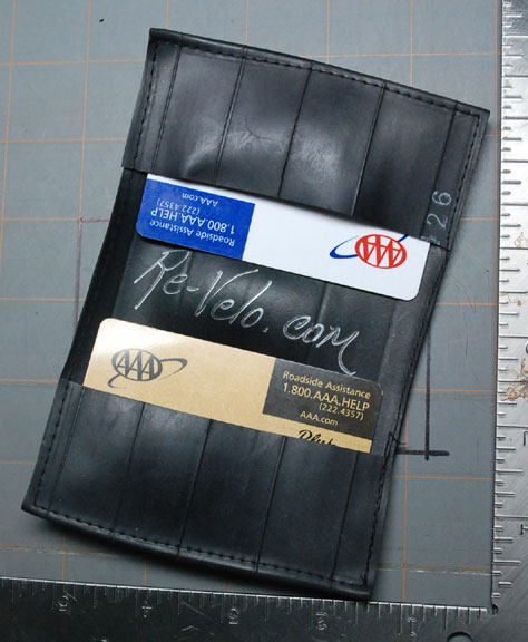 smaller inner tube wallet