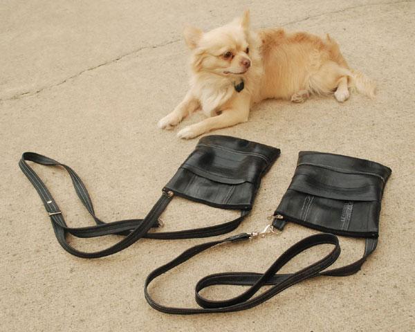 2 inner tube purses