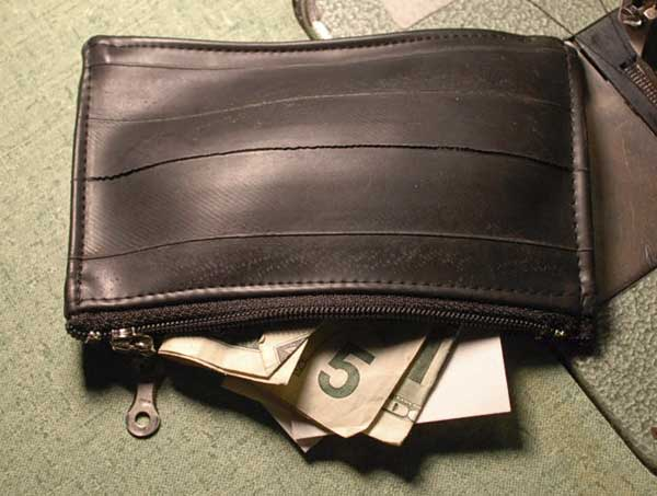 Coin purse back